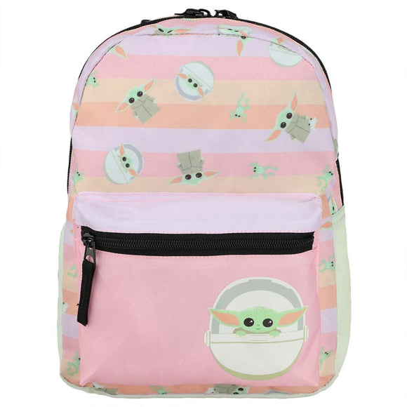 Star Wars The Mandalorian Grogu Pastel Mini Backpack