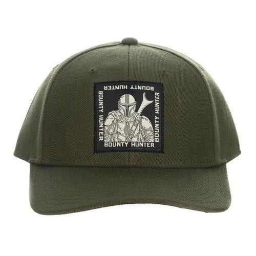 Star Wars The Mandalorian Bounty Hunter Snapback Hat