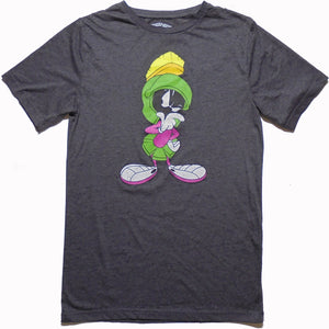 Men's Looney Tunes Marvin the Martian Tee - Blue Culture Tees