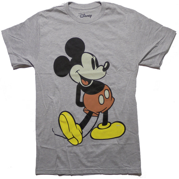 MEN'S MICKEY MOUSE GIANT MICKEY TEE - Blue Culture Tees