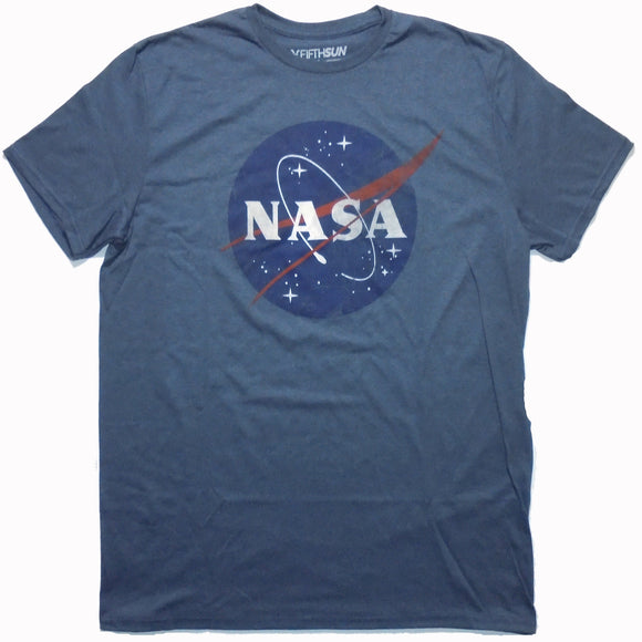 Men's NASA Classic Logo Tee - Blue Culture Tees