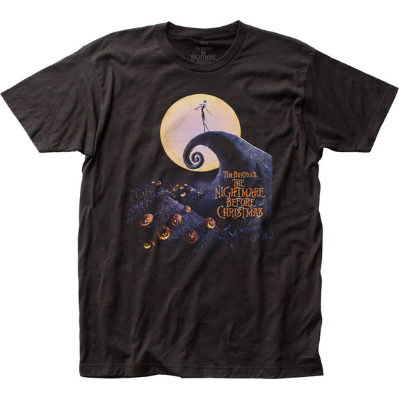 MEN'S DISNEY THE NIGHTMARE BEFORE CHRISTMAS POSTER TEE