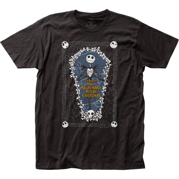 MEN'S DISNEY THE NIGHTMARE BEFORE CHRISTMAS COFFIN TEE