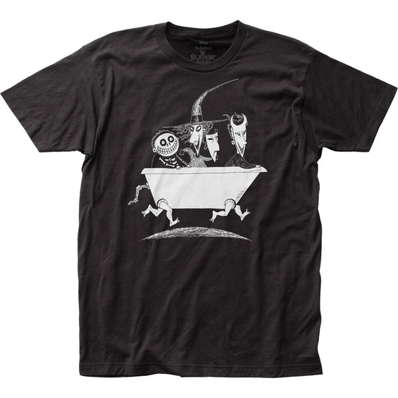 MEN'S DISNEY THE NIGHTMARE BEFORE CHRISTMAS LOCK SHOCK BARREL TEE