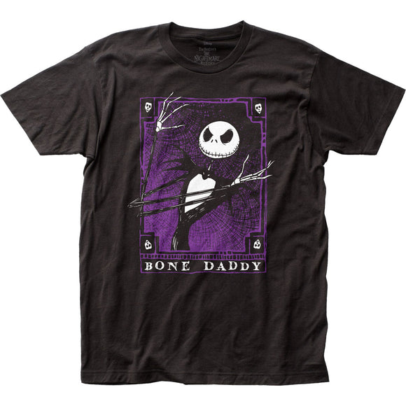 MEN'S DISNEY THE NIGHTMARE BEFORE CHRISTMAS BONE DADDY TEE