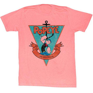 MEN'S POPEYE SAILORMAN TRIANGLE LIGHTWEIGHT TEE