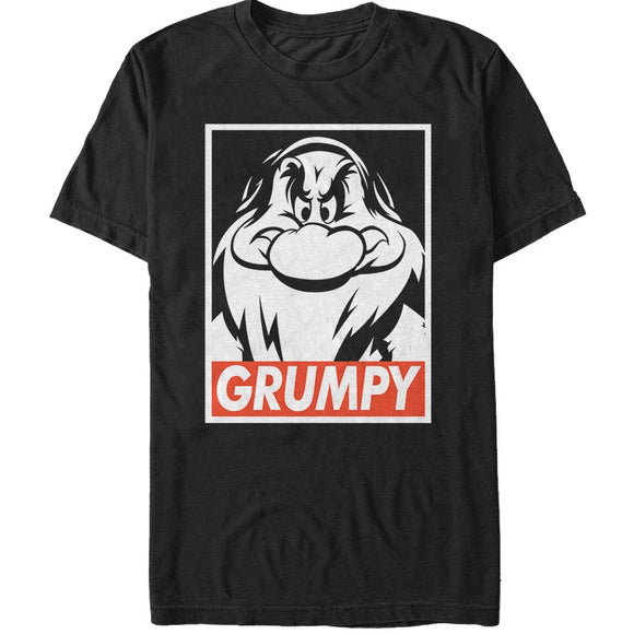 Men's Disney Snow White and the Seven Dwarves Grumpy Tee