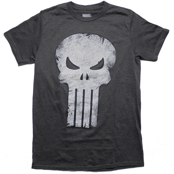 Men's Marvel Punisher Pun Skull Tee - Blue Culture Tees