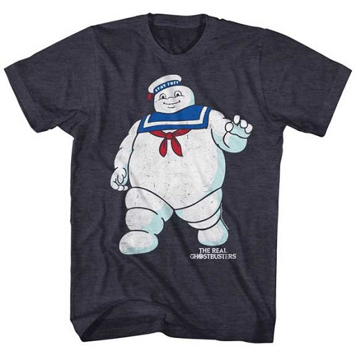 MEN'S THE REAL GHOSTBUSTERS MR STAY PUFT 2 TEE