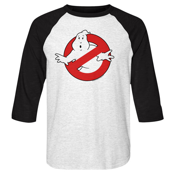 Men's The Real Ghostbusters Symbol Raglan Tee