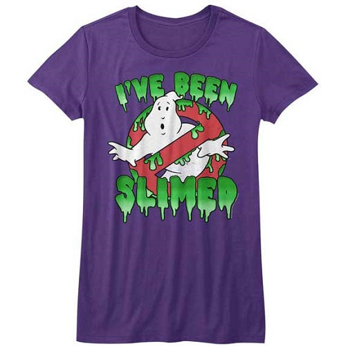 WOMEN'S THE REAL GHOSTBUSTERS SLIMED! TEE
