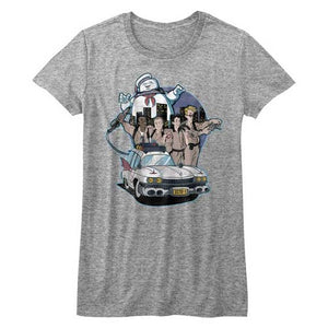 Women's The Real Ghostbusters Bustin' Buddies Tee