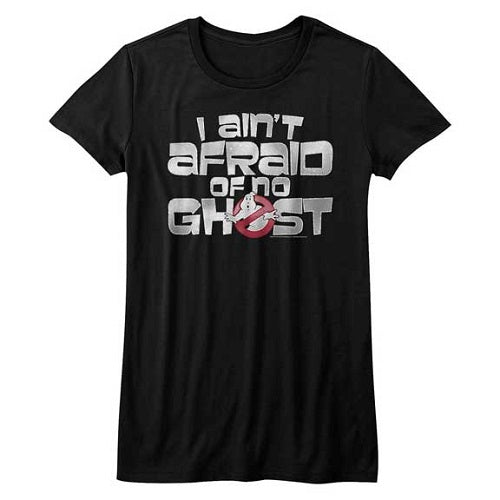WOMEN'S THE REAL GHOSTBUSTERS AIN'T AFRAID TEE