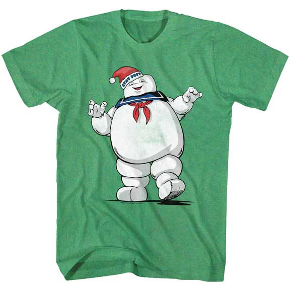 Men's The Real Ghostbusters Merry Mr. Stay Puft Tee