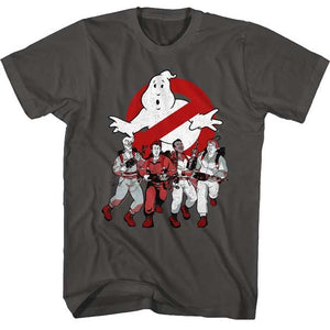 MEN'S THE REAL GHOSTBUSTERS G'BUSTERS & LOGO TEE