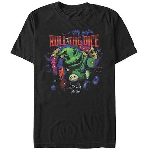 Men's Disney The Nightmare Before Christmas Oogie Boogie Roll the Dice Tee