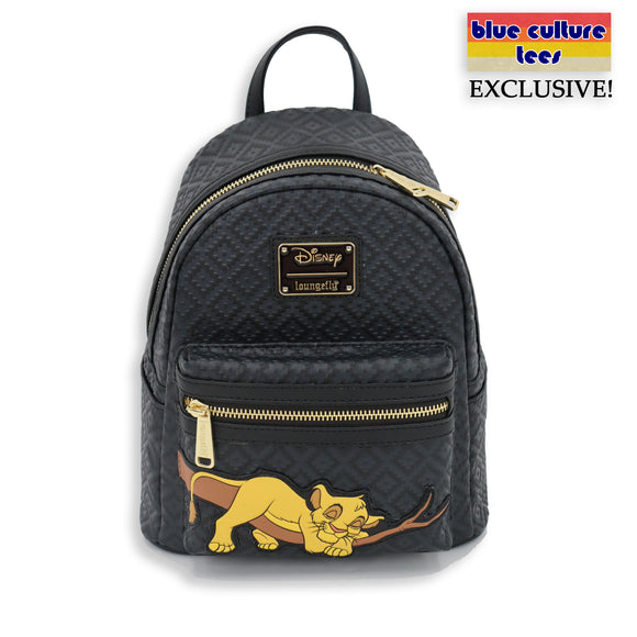 LOUNGEFLY DISNEY THE LION KING SLEEPING SIMBA MINI BACKPACK - PREORDER