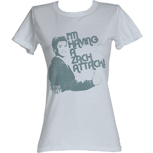 WOMEN'S SAVED BY THE BELL ZACH ATTACK TEE