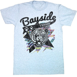 MEN'S SAVED BY THE BELL AZTEC TIGERS LIGHTWEIGHT TEE