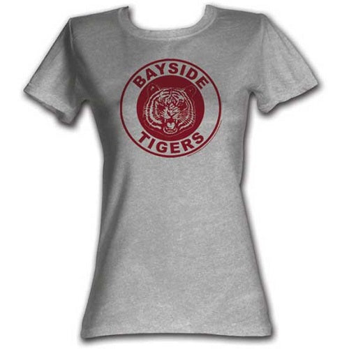 WOMEN'S SAVED BY THE BELL BAYSIDE CIRCLE TEE