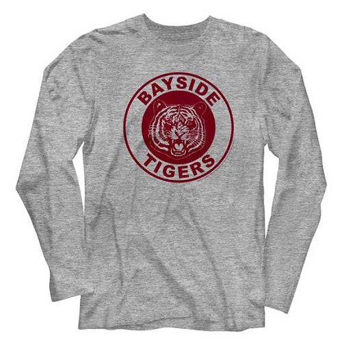 MEN'S SAVED BY THE BELL GBAYSIDE TIGERS LONG SLEEVE - Blue Culture Tees