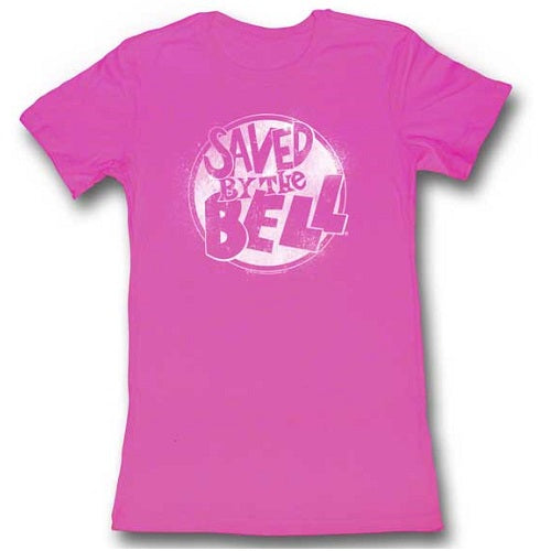 WOMEN'S SAVED BY THE BELL WHITE TEE