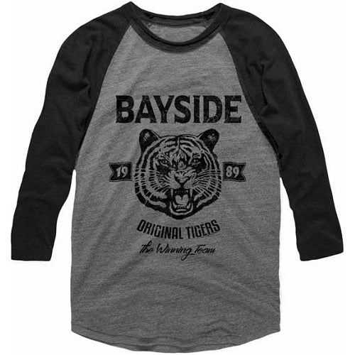 MEN'S SAVED BY THE BELL ORIGINAL TIGERS RAGLAN TEE