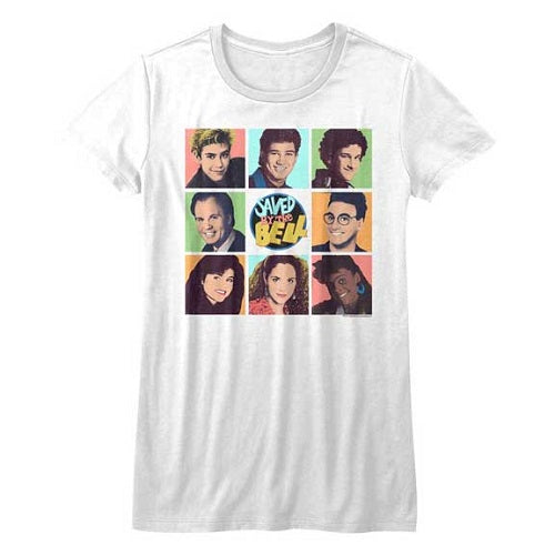 WOMEN'S SAVED BY THE BELL SAVEDBTB TEE