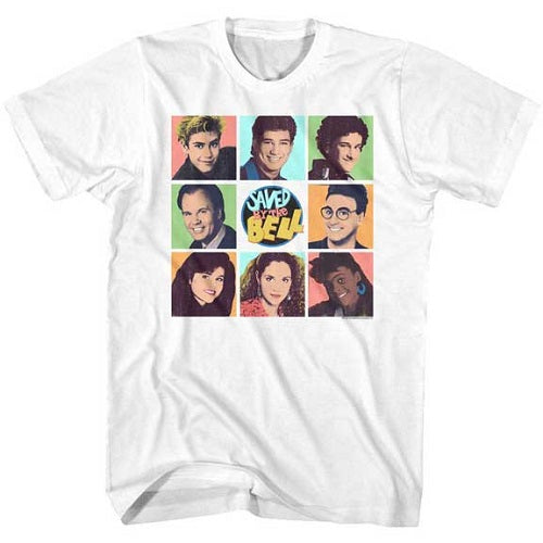 MEN'S SAVED BY THE BELL SAVEDBTB TEE