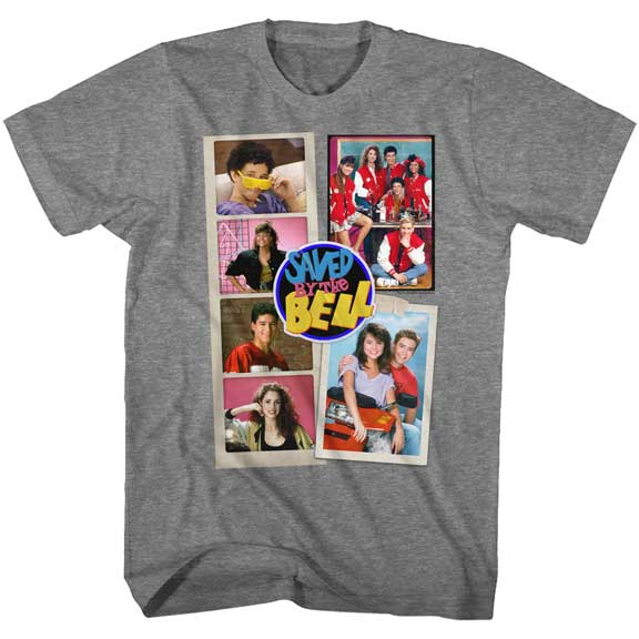 MEN'S SAVED BY THE BELL SCRAPBOOK TEE
