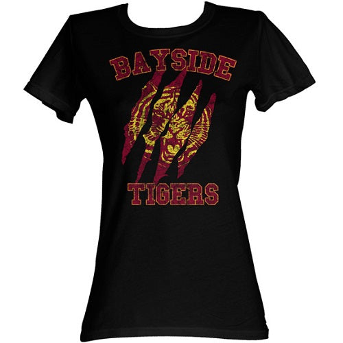 WOMEN'S SAVED BY THE BELL BAYSIDE CLAWS TEE