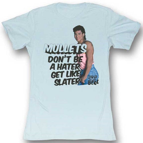 WOMEN'S SAVED BY THE BELL SLATER HATER TEE