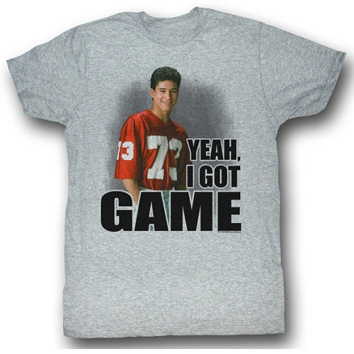 MEN'S SAVED BY THE BELL I GOT GAME LIGHTWEIGHT TEE