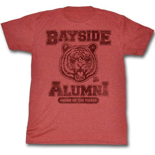 MEN'S SAVED BY THE BELL BAYSIDE ALUMNI LIGHTWEIGHT TEE