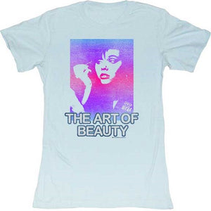 WOMEN'S SAVED BY THE BELL ART OF BEAUTY TEE