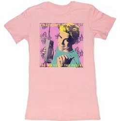 WOMEN'S SAVED BY THE BELL WAVE TEE