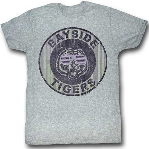 MEN'S SAVED BY THE BELL PINSTRIPE BAYSIDE LIGHTWEIGHT TEE