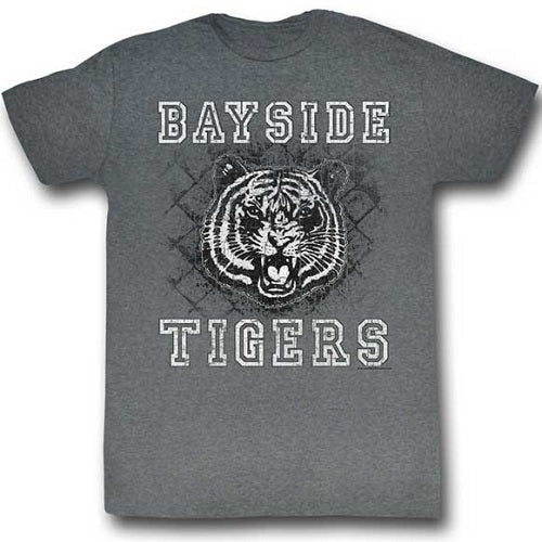 MEN'S SAVED BY THE BELL SCHOOLYARD TIGERS LIGHTWEIGHT TEE