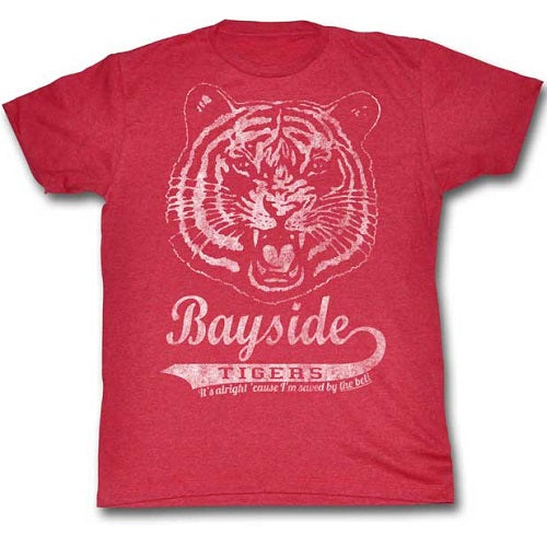 MEN'S SAVED BY THE BELL BAYSIDE VINTAGE LIGHTWEIGHT TEE