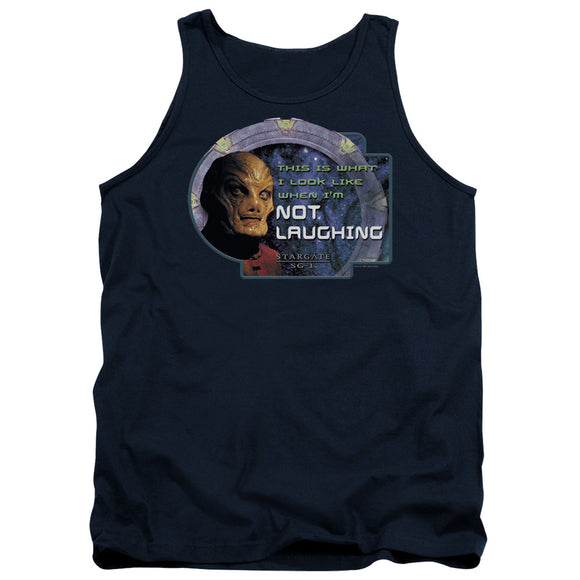 Men's Stargate SG-1 Not Laughing Tank Top