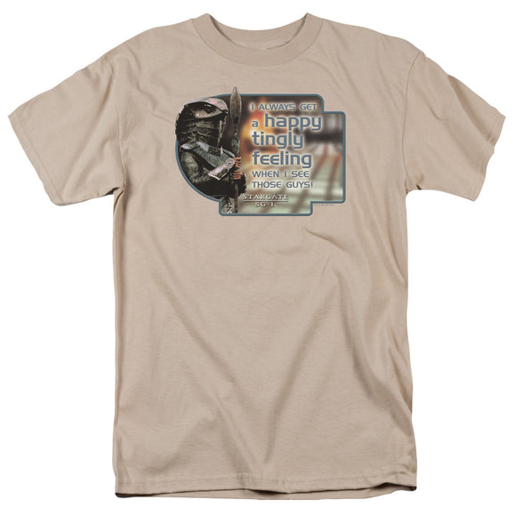 Men's Stargate SG-1 Happy Feeling Tee