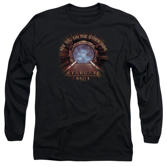Men's Stargate SG-1 Other Side Long Sleeve Tee