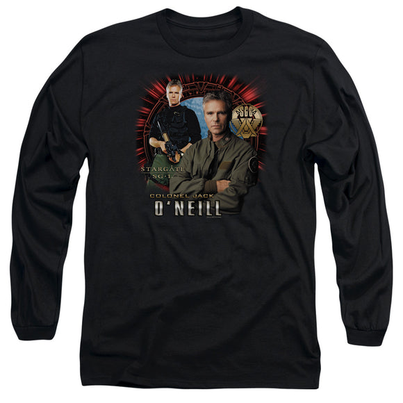 Men's Stargate SG-1 Colonel Jack O'Neill Long Sleeve Tee