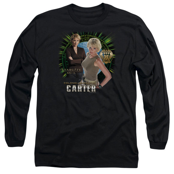 Men's Stargate SG-1 Colonel Samantha Carter Long Sleeve Tee