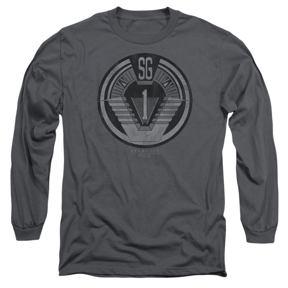 Men's Stargate SG-1 Team Badge Long Sleeve Tee