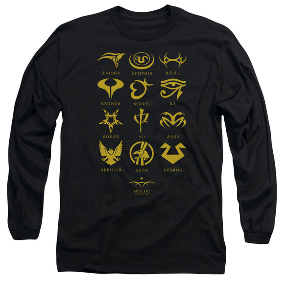 Men's Stargate SG-1 Goa'uld System Lords Long Sleeve Tee