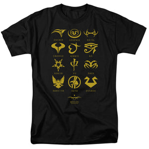 Men's Stargate SG-1 Goa'uld System Lords Tee