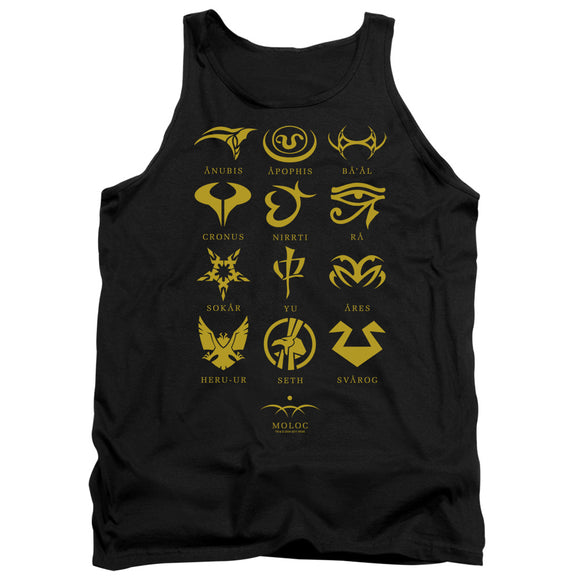 Men's Stargate SG-1 Goa'uld System Lords Tank Top
