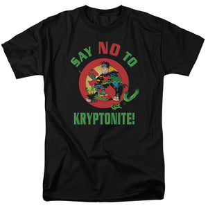 Men's DC Comics Superman Say No to Kryptonite Tee