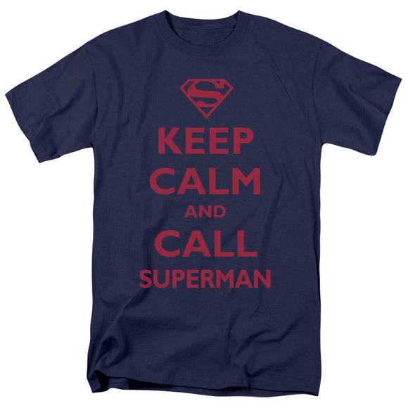 Men's DC Comics Superman Call Superman Tee